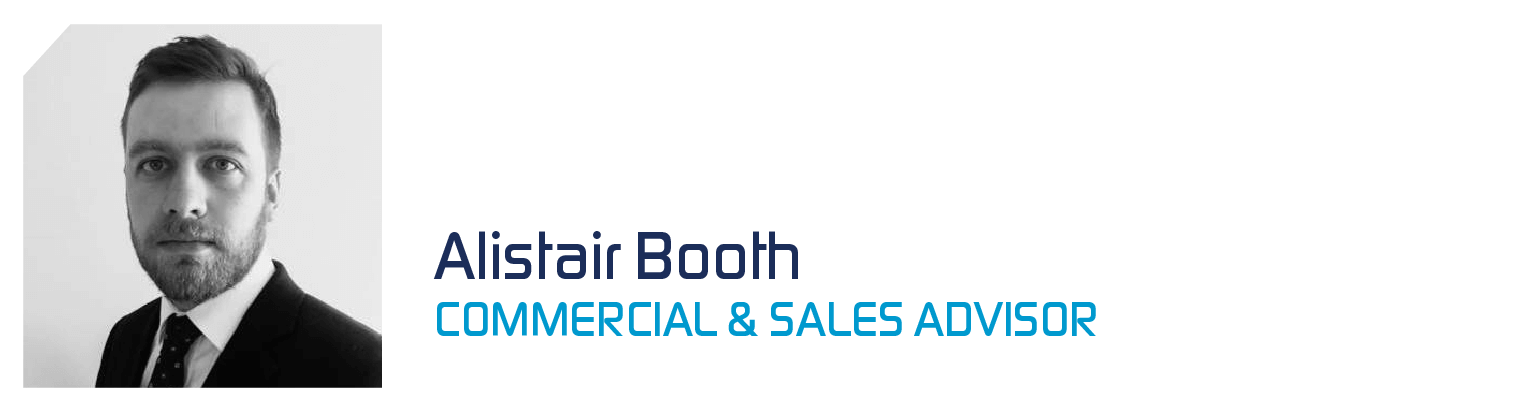 Alistair Booth Commercial and Sales Advisor